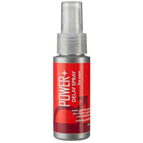 Spray retardante de color rojo
